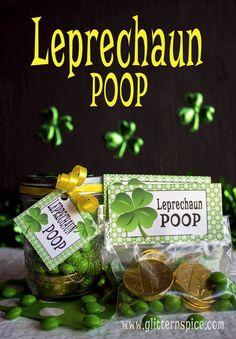 Leprechaun Poop Treats And Free Printables