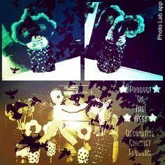 #product of the #week #flowers #Crochet #doppelgangerzone