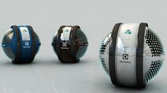 Futuristic MAB Sphere Spits out Flying Robots to Clean Your House! | Inhabitat