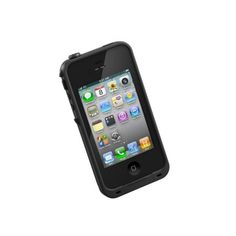 Lifeproof Iphone case - the smallest water/dust/shockproof case available for the Iphone. Pair with a Solio Bolt solar charger and take your phone pretty much anywhere without sweating.