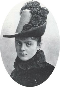 Mary Vetsera, the young girl who died with Crown Prince Rudolf of Austria in a murder-suicide in 1889