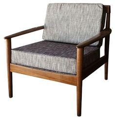 Midcentury. 2 very similar available in custom upholstery via gremlina!