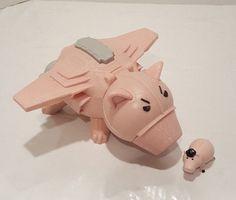 Imaginext Toy Story 3 Evil Dr. Porkchop Spaceship Ham 2009 Fisher Price fly pig #FisherPriceDisney