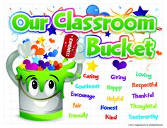 "Classroom ""Bucket Filler"" label! (http://www.imagestuff.com/products/viewproduct?pid=PLTCC25)"