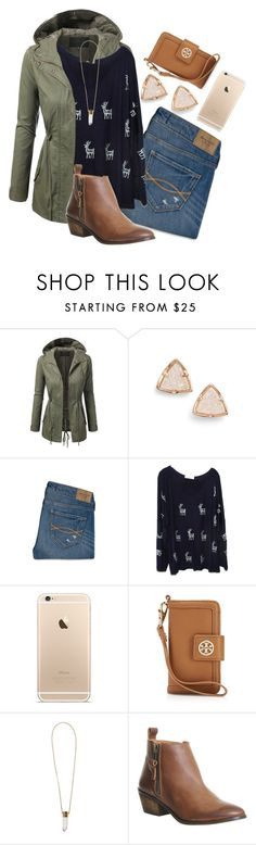 """If you love someone tell them! That could make their day!"" by madelyn-abigail ❤ liked on Polyvore featuring Kendra Scott, Abercrombie & Fitch, SLC-SLC, Tory Burch, Chloé, Office, women's clothing, women's fashion, women and female"