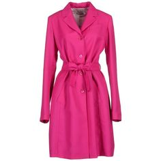JIL SANDER Coat found on Polyvore... No offense to hot pink but I would want this coat in a different color. Just because I don't really have alot of clothes that would go with this. Plus I don't want to look like Sharpay from High School Musical...