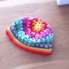 Free Crochet Granny square hat**Just another pretty example!**