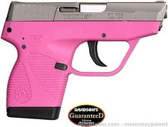 This is the lightest Taurus ever created, at just oz. This 738 TCP offers shots of ACP, -have :) Pink Pistol, 380 Acp, Cool Tats, 2nd Amendment, Bang Bang, Revolver, Taurus, Girl Power, Hand Guns