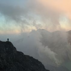 Kawah Ijen indonesia Sunrise