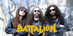Resenha do Rock: BATTALION: Banda figura na capa da revista Homicid...