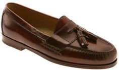 $109, Brown Leather Tassel Loafers: Cole Haan Pinch Tassel Loafer. Sold by Nordstrom. Click for more info: http://lookastic.com/men/shop_items/207919/redirect