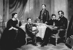 Abraham Lincoln Family   abraham lincoln with his family www civwarbooks com abraham lincoln ...