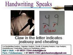 handwriting analysis signature below line