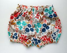 Eco Friendly Clothing Organic Cotton Bloomers by moonroomkids
