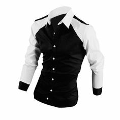 Mens Point Collar Single Breasted Casual Autumn Shirt: Amazon.co.uk: Clothing £9.65 free delivery