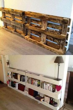 Easy sofa table idea