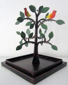 Árbol Aretes 20 cm w x 25 cm h $60.000 Incense, Concrete Slab, Poppies, Stud Earrings, Objects, Creativity, Wood