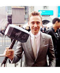 He is worthy! #Avengers