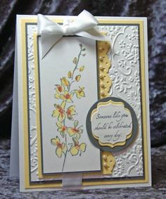 Yellow Challenge Birthday by Jami - Cards and Paper Crafts at Splitcoaststampers