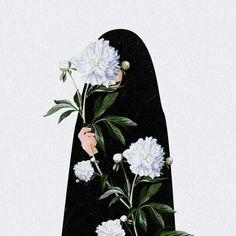 Flower Phone Wallpaper, Anime Wallpaper Live, Cute Wallpapers Quotes, Cute Cartoon Wallpapers, Girl Cartoon Characters, Girly Images, Islamic Cartoon, Anime Muslim, Hijab Cartoon