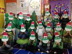 Grinch day- best class Christmas party ever mel!!!