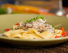 Sauteed Beef with Creamy Mushroom and Shallot Sauce ( A little high on the potassium side 430 mg for the beef mixture)