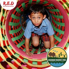 R.E.D introduces #GhaziabadChildrenPark! Come along with your #kids for endless #fun. #REDMALL