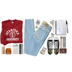 College, created by julia-n-s on Polyvore