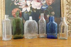 Collection of Antique Glass Bottles-Including  Parkinsons Ltd Burnley
