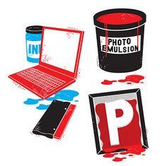 Screen printing <3