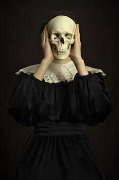 The Look: Romina Ressia Dark Photography, Portrait Photography, Fashion Photography, Ghost In The Machine, Foto Fashion, Skull And Bones, Art Plastique, Dark Art, Art Reference