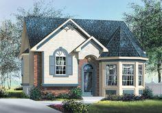 Nice exterior elevation. Craftsman House Plan chp-32056 at COOLhouseplans.com