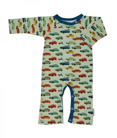 Long Sleeve Cotton Rompers for Unisex Baby Soft Retro Style Switzerland Silhouette Onesies