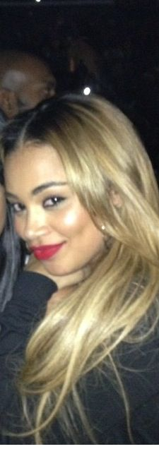 lauren london blonde hair | Photo courtesy of Instagram