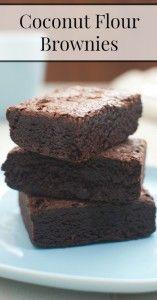coco brownies farinha pin