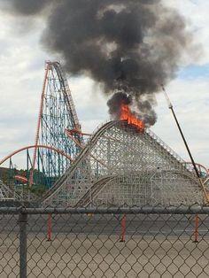 Twisted Colosdus construction fire