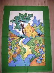 clarice cliff fabric - Google Search Clarice Cliff, Art Deco Period, Ceramic Artists, Silk Painting, Pottery Art, Fiber Art, Painted Furniture, Art Nouveau, Needlework