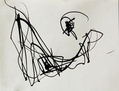 Jenny MIKESELL -- calligraphic ink drawing 2014