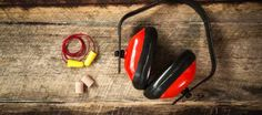 October is National Protect Your Hearing Month! In workplaces where noise levels exceed the Occupational Safety and Health Administration's (OSHA) Buy Headphones, Noise Cancelling Headphones, Ear Protection, Hearing Protection, Latest Health News, Hearing Aids, Health And Wellbeing, Noise Levels, Pinterest Pin