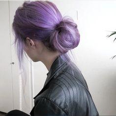 Hair Color Purple, Hair Dye Colors, Dyed Hair Purple, Violet Hair, Mode Emo, Coloured Hair, Dye My Hair, Aesthetic Hair, Grunge Hair