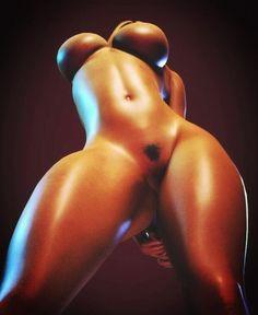Too fine, elegant afro body.