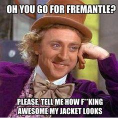 Fremantle dockers jokes