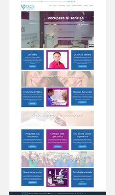 Sitio web desarrollado con Joomla