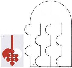 heart pattern: