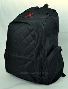 df4038cd1268dc Nike Air Jordan Black Men s or Women s Black Backpack  OrlandoTrend  Nike   Jordan