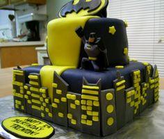 Great batman party cake