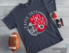 Get all the accessories to make your Game Day spectacular! Kappa Kappa Gamma | Made by University Tees | universitytees.com