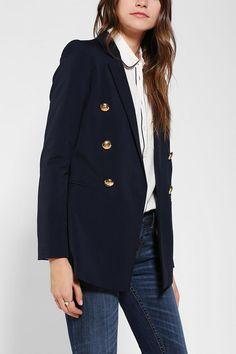 Oversized menswear-inspired blazer from Blaque Label.