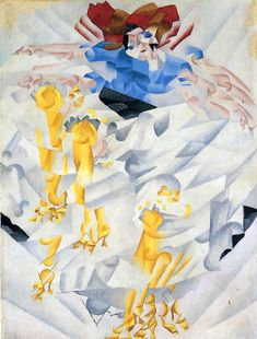 """Dynamism of a Dancer Gino Severini 1912 """"What can you find in an old picture except the painful contortions of the artist trying to break uncrossable barriers which obstruct the full expression of his dream?"""" -The Futurist Manifesto Gino Severini, Giacomo Balla, Italian Futurism, Futurism Art, Dance Paintings, Italian Painters, Italian Art, Art Plastique, Magazine Art"""
