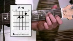 The Amin Chord (Guitar Lesson BC-121) Guitar for beginners Stage 2